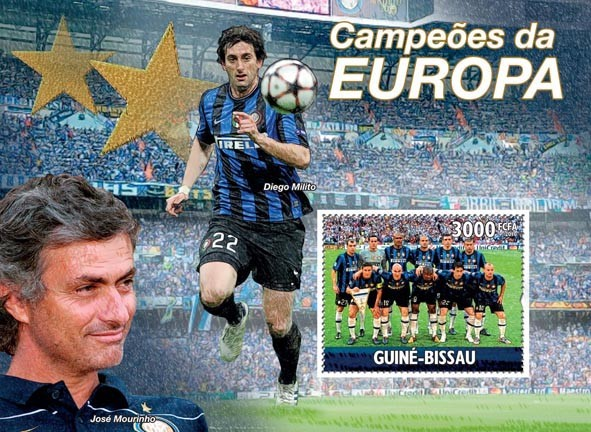 Champions of UEFA Champions League 2010 FC Inter?タᆵ, Diego Milito - <I><u><B><FONT color=#cc0000>SOLD_OUT</FONT></B> – Issue of Guinée-Bissau postage stamps'/></a></div> <div class=