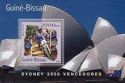 Cyclisme 2000 FCFA   S/S - Issue of Guinée-Bissau postage stamps
