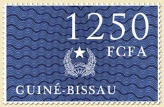 Coat of arms IV - Issue of Guinée-Bissau postage stamps