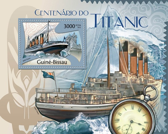 Centenary of Titanic, (RMS Titanic). - Issue of Guinée-Bissau postage stamps