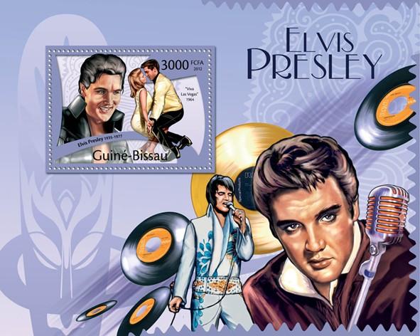 Elvis Presley, (1935-1977), Viva Las Vegas 1964. - Issue of Guinée-Bissau postage stamps