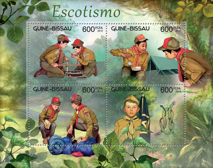 Scouting - Issue of Guinée-Bissau postage stamps