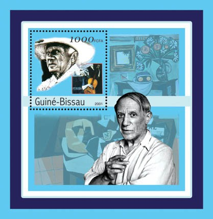 Pablo Picasso  S/S - Issue of Guinée-Bissau postage stamps