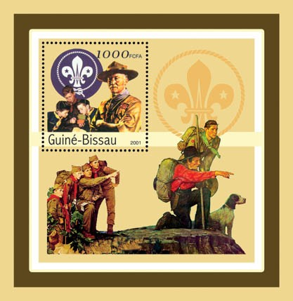 Baden Powell   S/S - Issue of Guinée-Bissau postage stamps