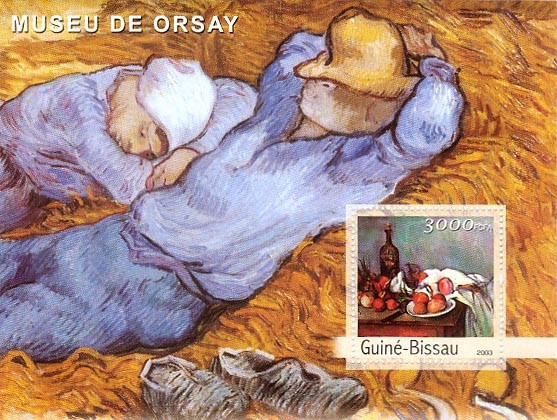 Museum of Osray 3000 FCFA S/S - Issue of Guinée-Bissau postage stamps
