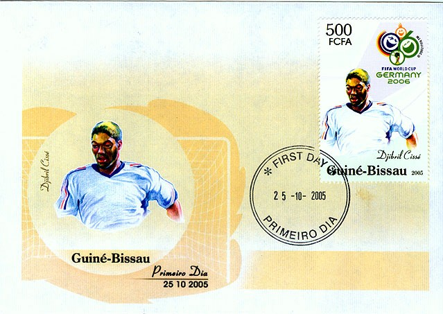 Football Germany 2006 FDC - Issue of Guinée-Bissau postage stamps