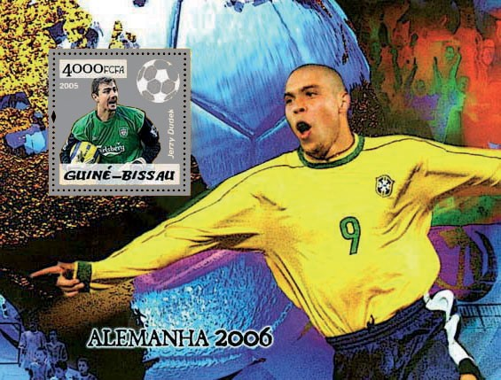 Football Germany 2006 S/s 4000 - Issue of Guinée-Bissau postage stamps