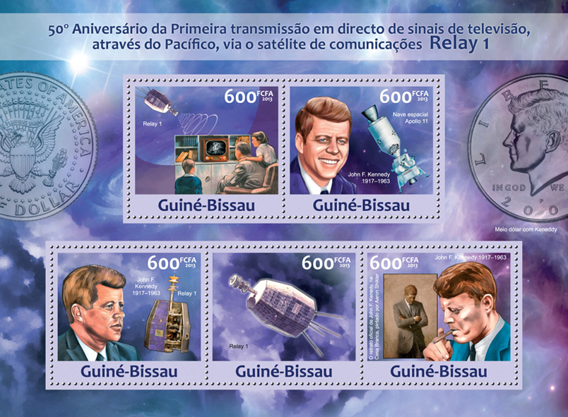 Relay 1 - Issue of Guinée-Bissau postage stamps