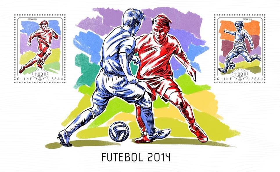 Brazil 2014 - Issue of Guinée-Bissau postage stamps