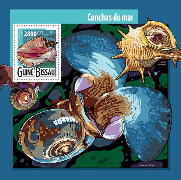 Shells - Issue of Guinée-Bissau postage stamps