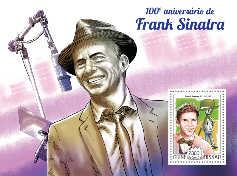 Frank Sinatra - Issue of Guinée-Bissau postage stamps
