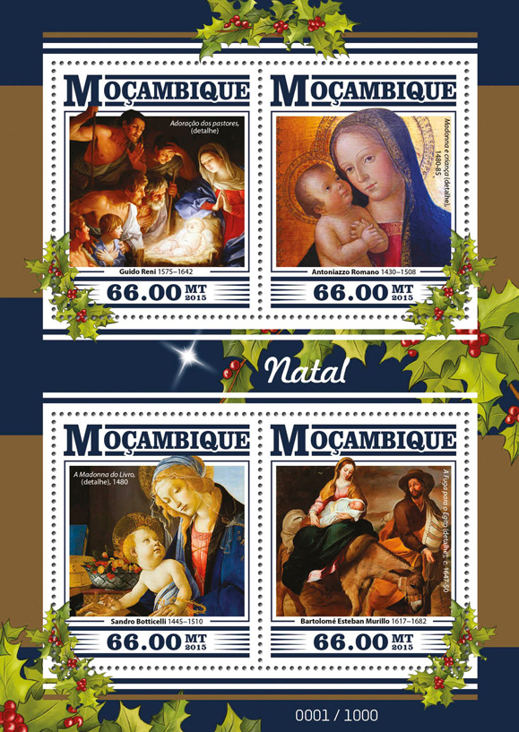 Christmas - Issue of Guinée-Bissau postage stamps