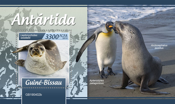 Antarctica - Issue of Guinée-Bissau postage stamps